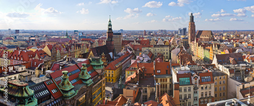 Fototapeta Wroclaw town square