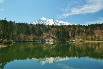WETLAND Himenuma-pond 姫沼と利尻山