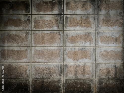 Fototapeta Grunge concrete brick background.
