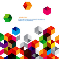Polygon vector design