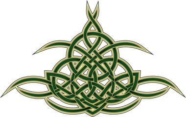 Celtic decorative pattern