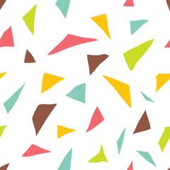 Geometric vector pattern.