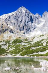 Lomnicky Peak and Skalnate Tarn, Vysoke Tatry (High Tatras), Slo
