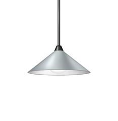 Retro light grey hanging lamp
