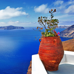beautiful Santorini details