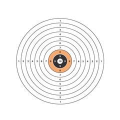 Target. Vector format