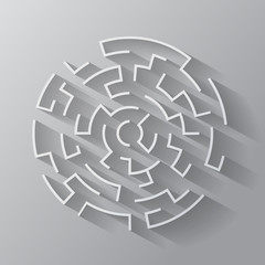 Maze. Vector format