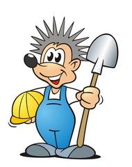 Hedgehog Shovel