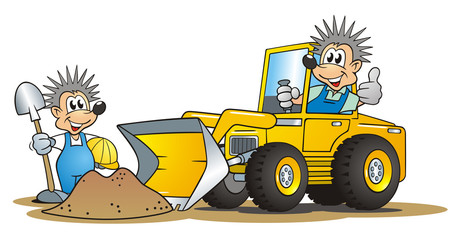 Hedgehog Excavator