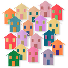 Residential quarter - concept image