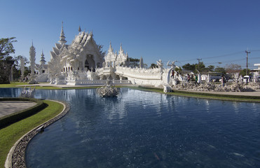 Wat Rong Khun,Chiangrai, Temple in Thailand