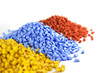 plastic polymer granules - 64619418
