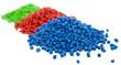 plastic polymer granules - 64619661
