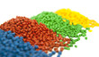 plastic polymer granules - 64619837