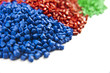 plastic polymer granules - 64620085