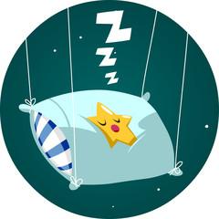 Estrella duerme almohada