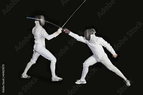 canvas print picture fencing