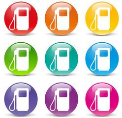 Vector fuel icons