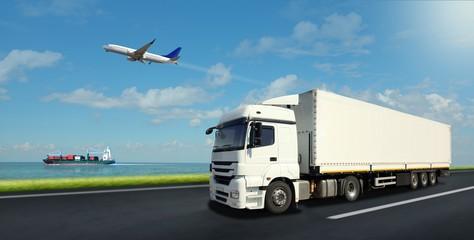 Vehicles of logistics