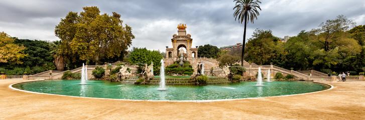 Parco della Ciutadella, fontana della cascata, Barcellona