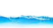 Leinwandbild Motiv water bubbles surface