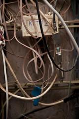 старые провода и кабель