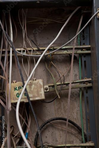 In de dag кабель и провода