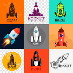 Vector Rocket Collection