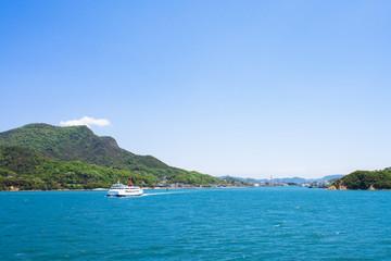 小豆島 土庄港遠景