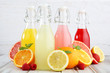 canvas print picture - summer refreshments