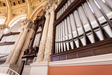 Organo a canne, Barcellona, Spagna