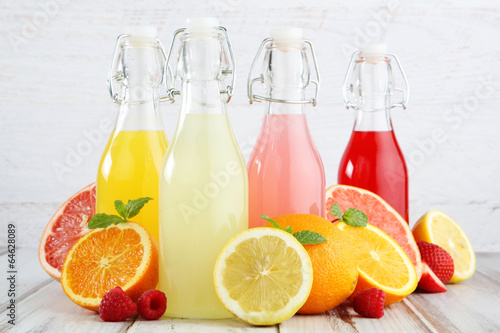 canvas print picture summer refreshments