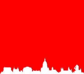 Mainz Skyline rot