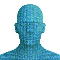 Digitalized man