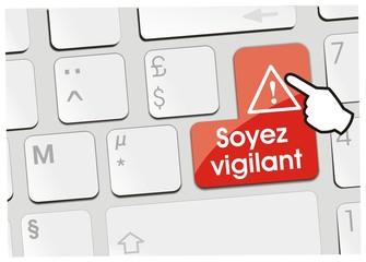 clavier soyez vigilant