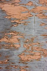 Старая потрескавшаяся краска на деревянной стене
