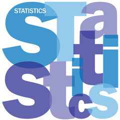 """STATISTICS"" Letter Collage (analysis metrics data management)"