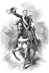 French King Henri IV riding - 16th century