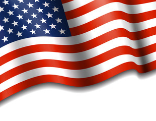 American Flag Stars & Stripes Background