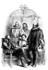 French King : Henri IV & his Ministers - 16th century