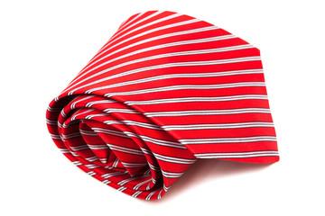 red, scarlet tie