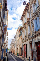 old town in bordeaux city