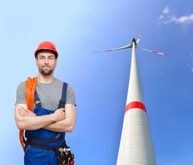 Monteur für  Windkraftanlagen //  Workers for wind turbines