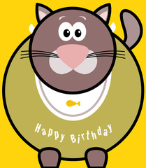 Gatto Happy Birthday