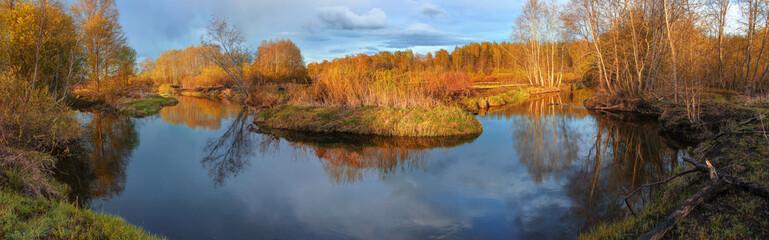 Spring landscape, Russia