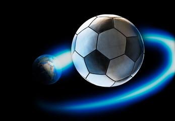 the world revolves around soccer
