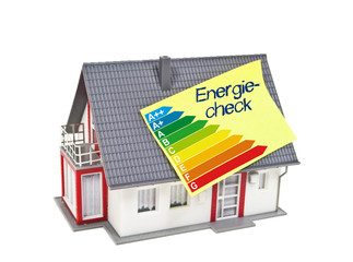 Haus mit Energiecheck