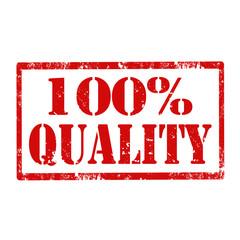 100% Quality-stamp