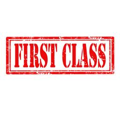 First Class-stamp
