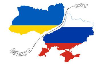 Gespaltene Ukraine